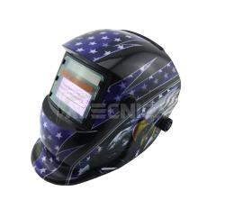 Maschera LCD autoscurante Atecnica Spider blue saldatura elettrodo MIG MAG TIG