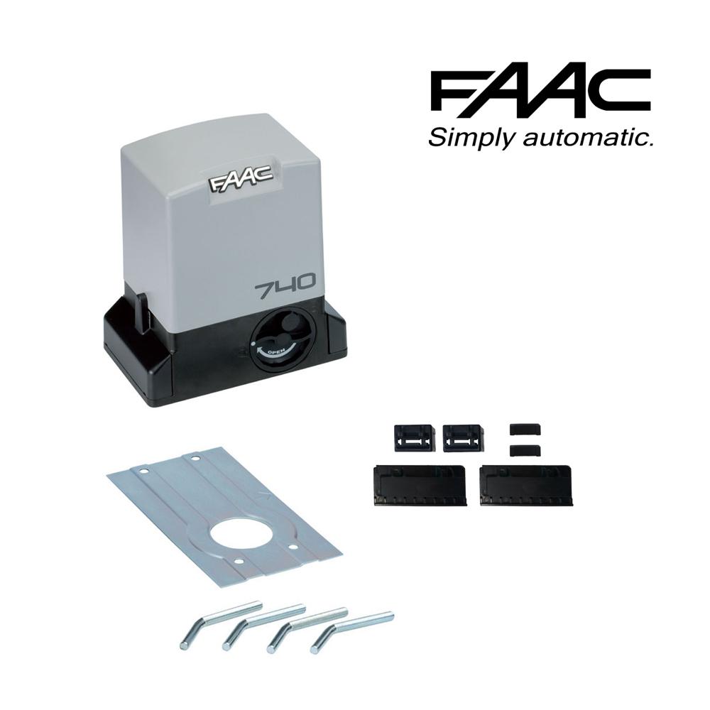 Schema Elettrico Cancello Scorrevole Faac 740 : Motore automazione cancello scorrevole k motoriduttore
