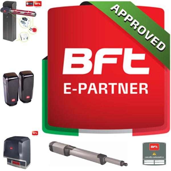 Distributore autorizzato dalla BFT spa
