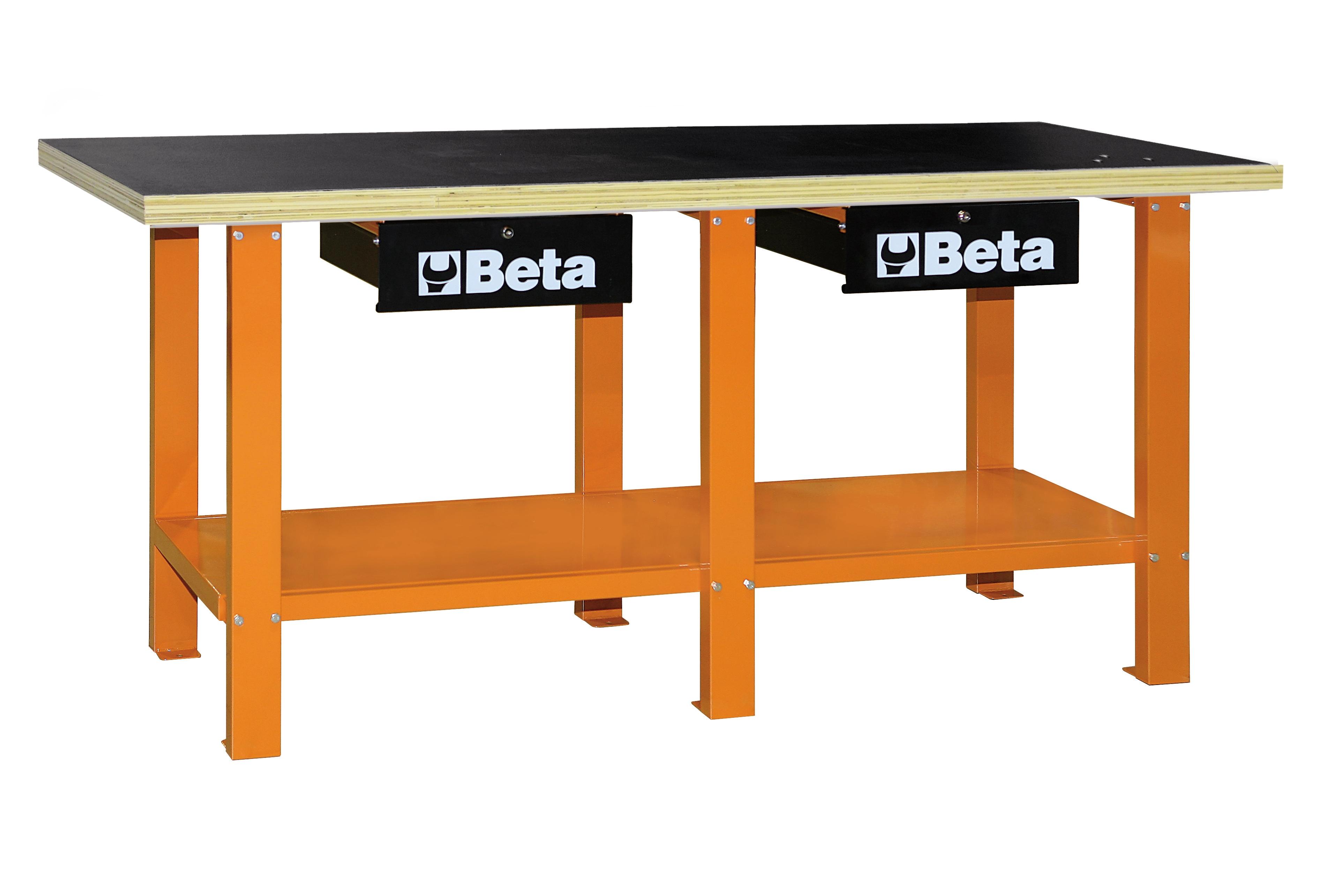 Banco da lavoro beta tools c56w in acciaio con piano in for Banco da lavoro pieghevole wolfcraft
