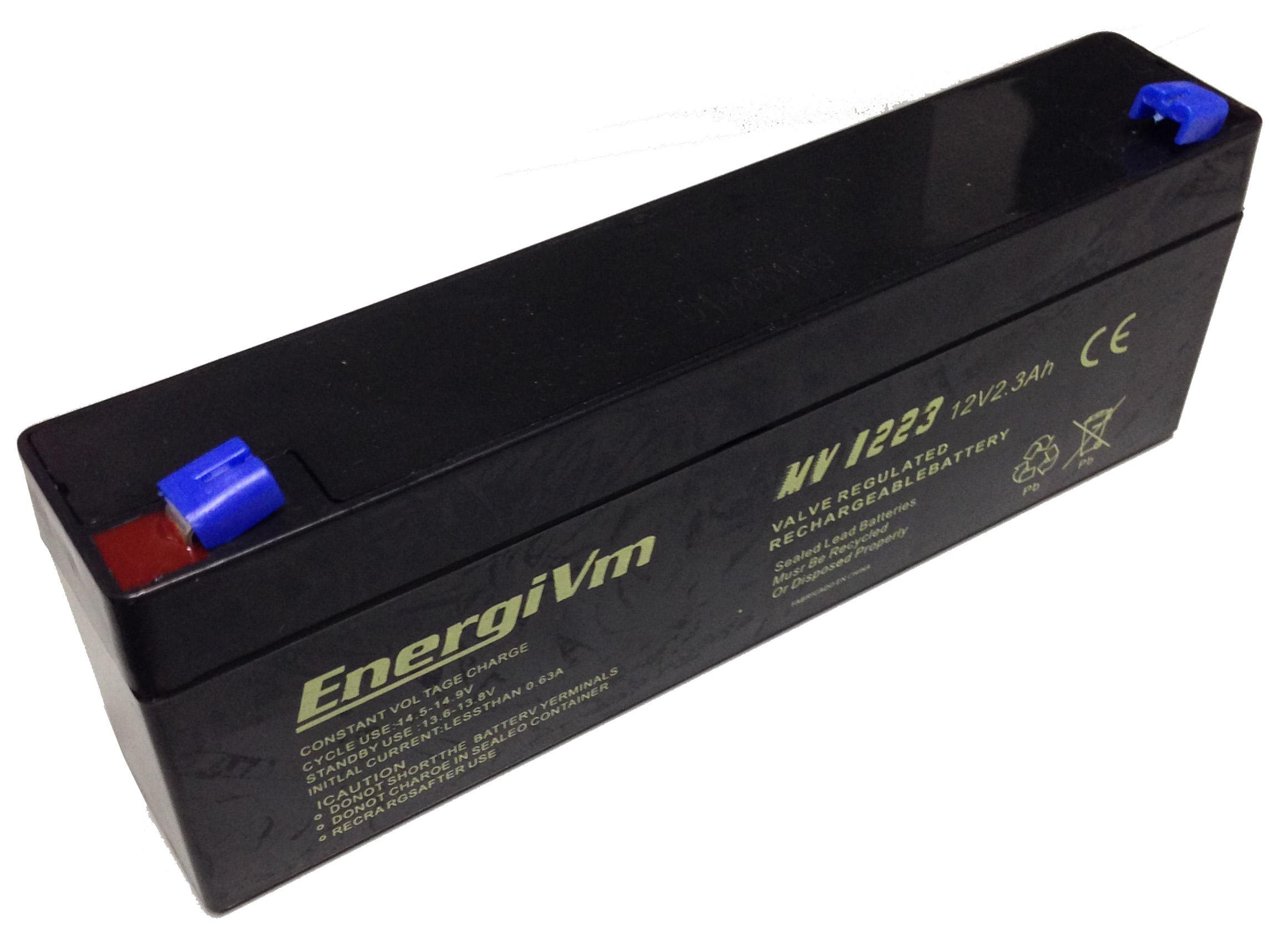 Batteria ricaricabile al piombo 12 12v 2 3 2a batterie x - Riparazione finestre vasistas ...