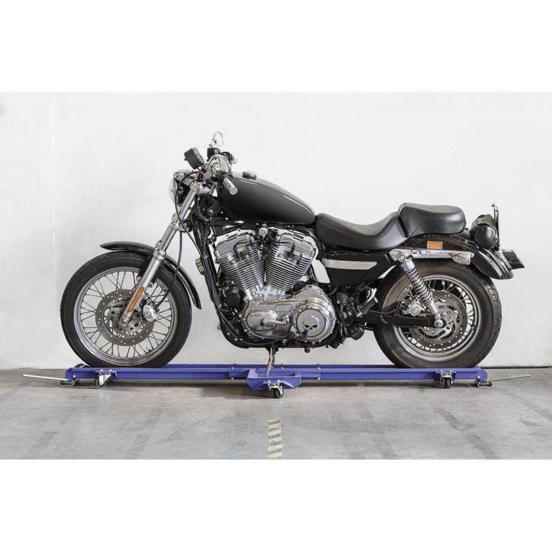 Carrello sposta moto fervi 0430 per moto con cavalletto for Carrello sposta moto cavalletto laterale