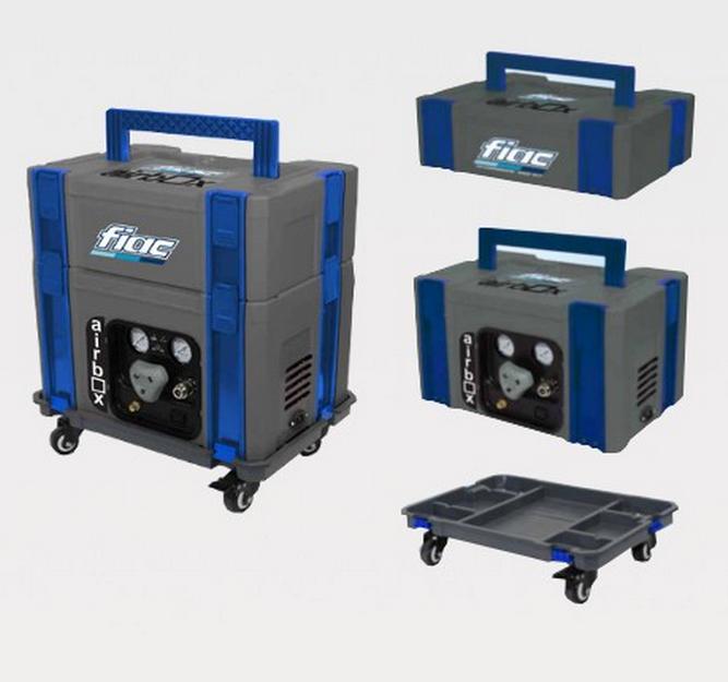 Cassetta modulare porta attrezzi con compressore 3 lt - Cassetta porta attrezzi stanley con ruote ...