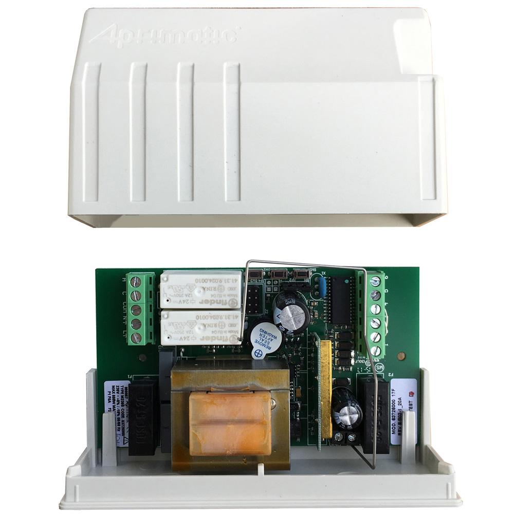 Schema Elettrico Per Motore Tapparelle : Centralina di comando motori per serrande avvolgibili v