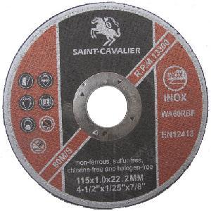 Inox Discos de l/áminas color azul 20 unidades, 125 mm de di/ámetro x 22,23 mm, grano mixto, 5 de grano 40//60//80//120