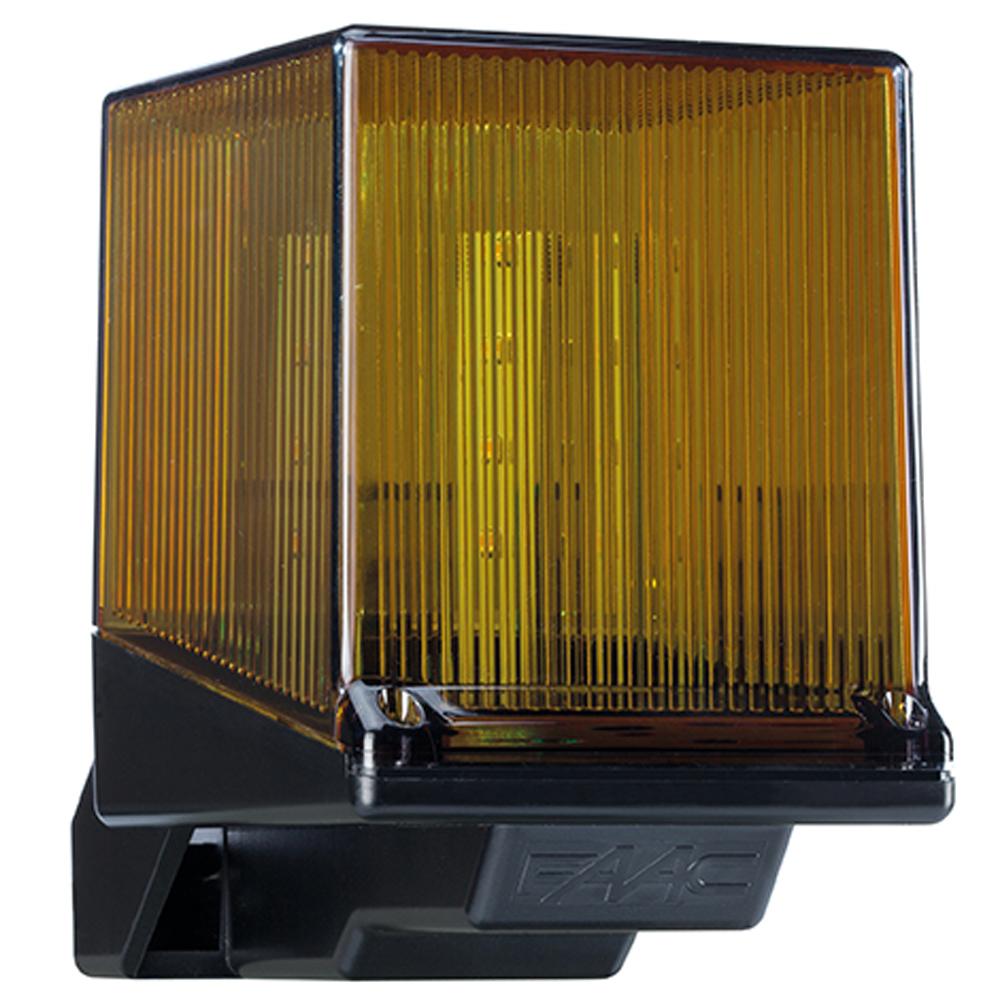 Lampeggiante FAAC LED 230V 410023 lampeggiatore led per cancelli originale Faac