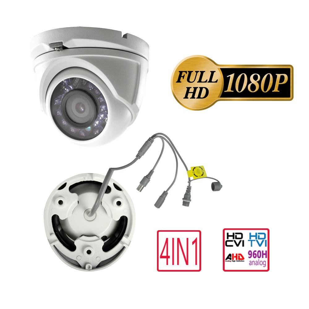 miniatura 2 - Telecamera MINIDOME ottica fissa 2.8 mm 4in1 SAFIRE DM942IB-F4N1 1080p IR 20mt