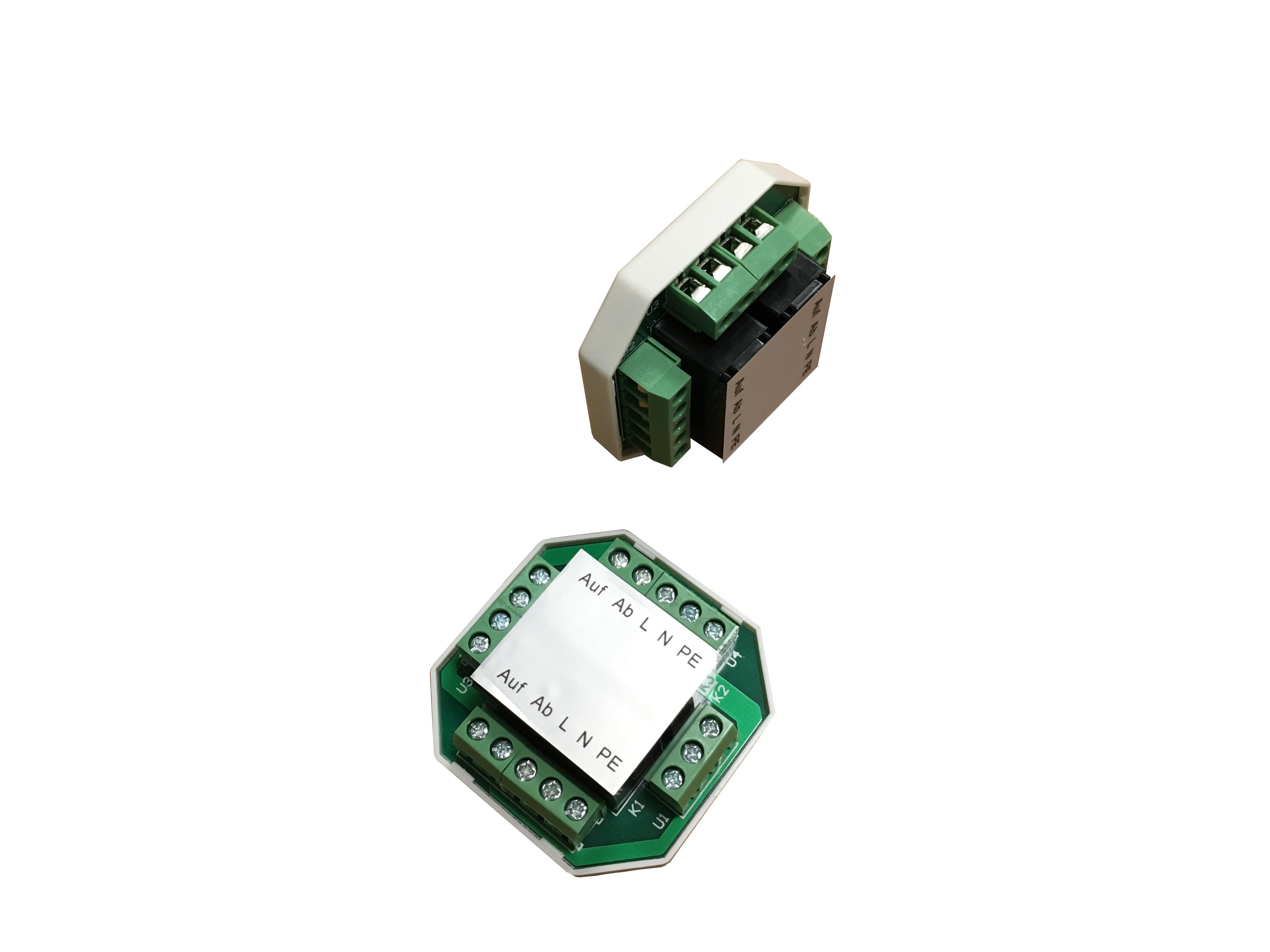 Schema Elettrico Per Motore Tapparelle : Modulo di comando filare atecnica ma per automazione tapparelle e