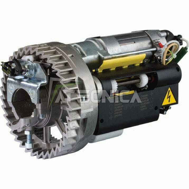 Schema Elettrico Per Saracinesca : Motore per serranda faac r ef portamolla con