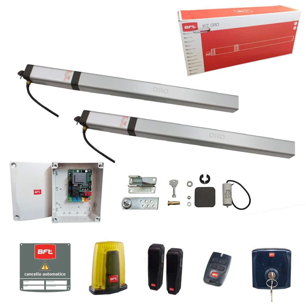 Schema Elettrico Bft Oro : Kit idraulico oleodinamico bft oro kit 230v automazione ante