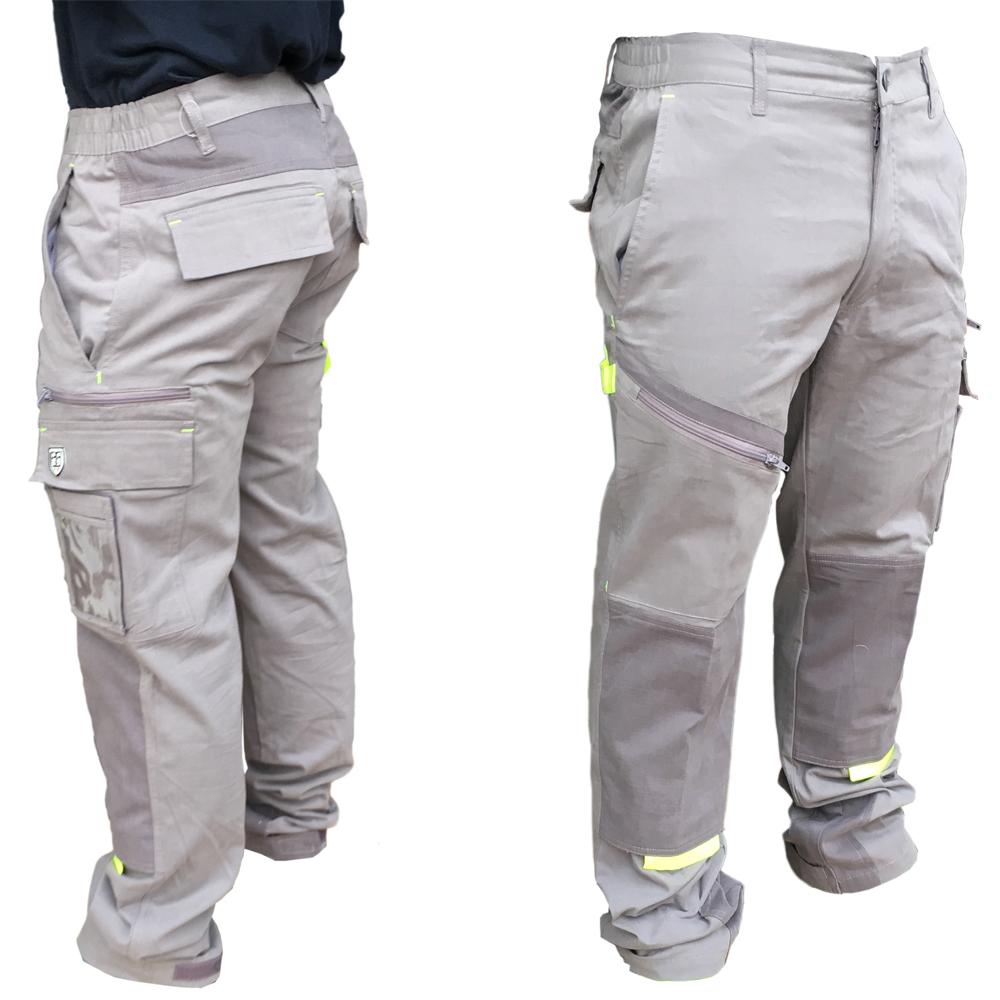 ec9f5fb722a1 Pantalone da lavoro lungo elasticizzato cotone 245gr AERRE PowerG ...