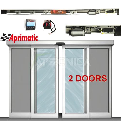Porta automatica Aprimatic WK120 42511 automazione porta scorrevole ...