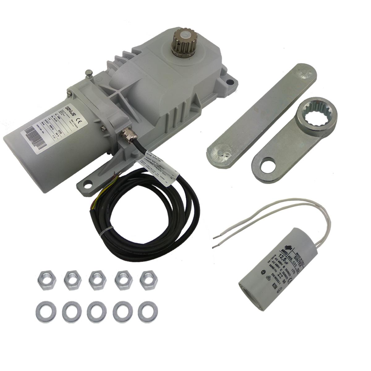 Motori Per Cancelli A Due Ante Faac.Motore Battente Interrato 230v Originale Faac Genius Roller 6170077