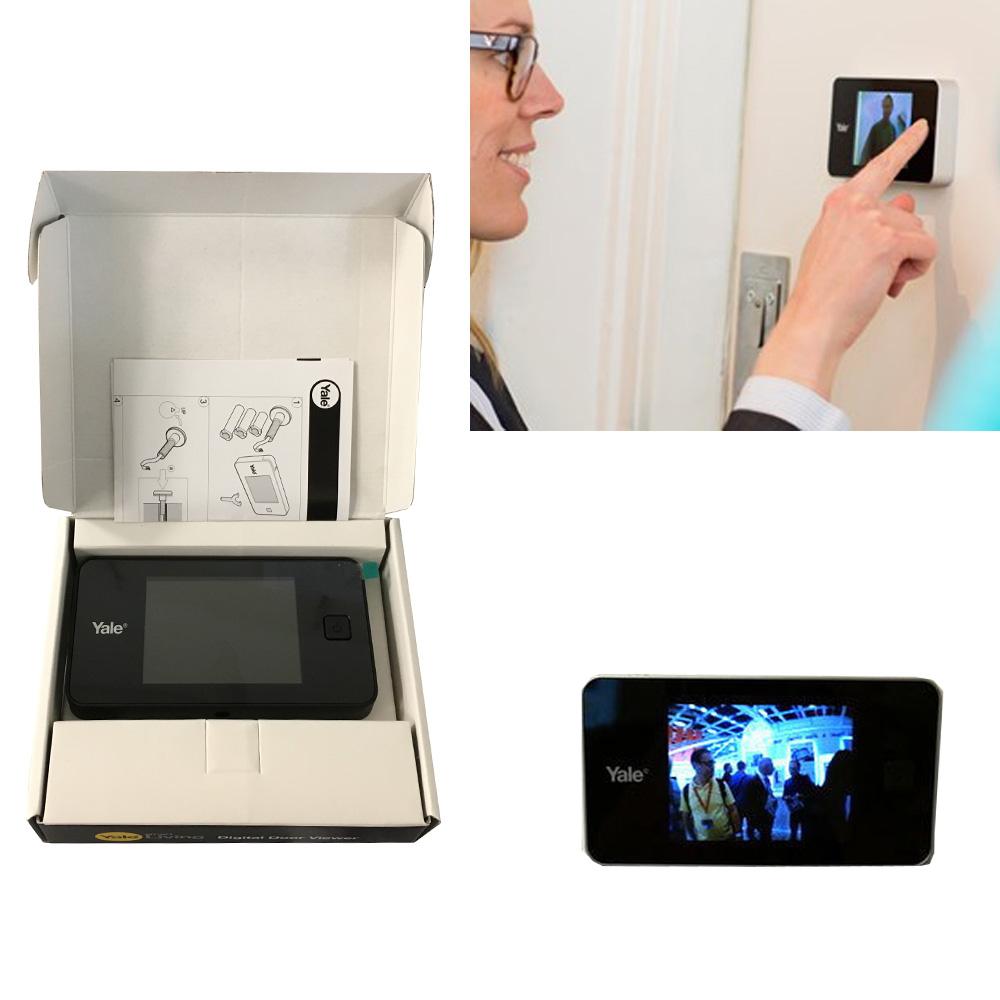 Spioncino elettronico con display digitale lcd 3 2 a for Spioncino elettronico per porte blindate