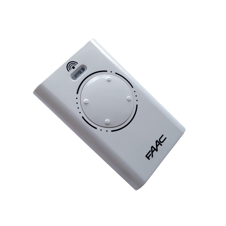 t l commande faac xt4 868 mhz slh lr 4 canaux 787010 pour. Black Bedroom Furniture Sets. Home Design Ideas
