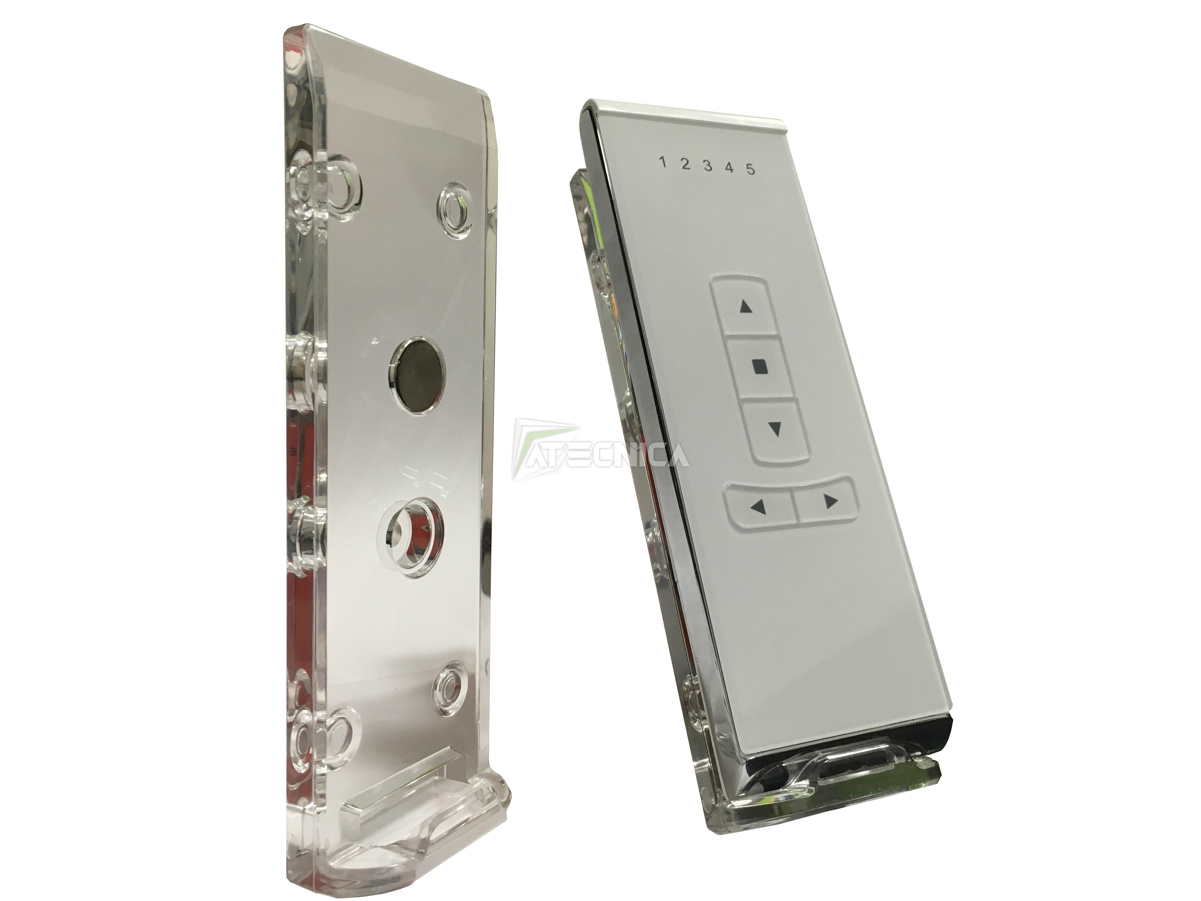 remote control transmitter remote control shutter curtains. Black Bedroom Furniture Sets. Home Design Ideas