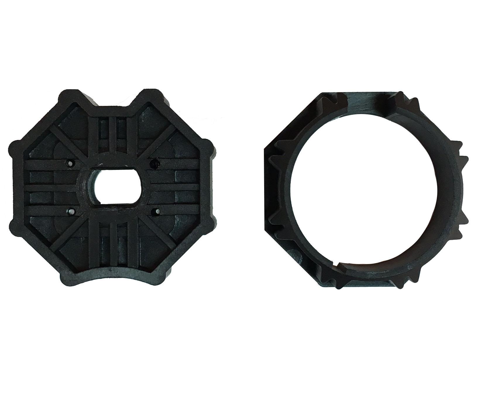 Ante A Tapparella adattatore per motore tubolare per tapparella ottagonale 60 mm attacco  10x15 mm | atecnica