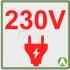 Dispositivo con funzionamento a 230V