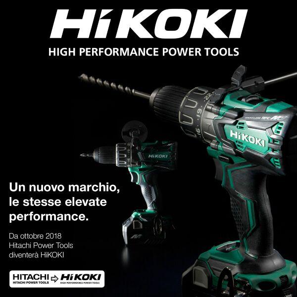 Hitachi diventa HIKOKI Power Tools